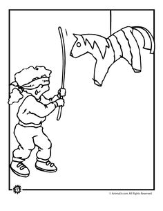 Best Cinco De Mayo Coloring Sheet