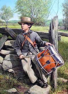 """Confederate Drummer"", Jeff Trexler"