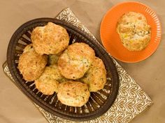 Bacon Cheddar and Chive Biscuits -  Kelsey Nixon - Food Network