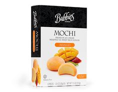 Bubbies Hawaii Mochi (Packaging of the World: Creative Package Design Archive and Gallery) Creamed Rice, Mochi Ice Cream, Dough Balls, Packaging Design, Mango, Sweet, Creative Package, Recipes, Icecream