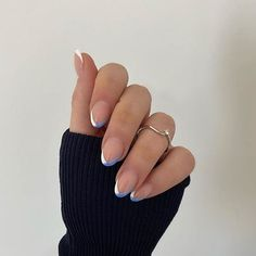 Simple Acrylic Nails, Best Acrylic Nails, Simple Nails, Rounded Acrylic Nails, Acrylic Nail Designs, Hair And Nails, My Nails, Faux Ongles Gel, Acylic Nails