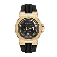 861c2fefc39f3 Michael Kors Access Touchscreen Black Dylan Smartwatch MKT5009. Powered by  Android Wear. Compatible with