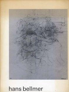"""""""Hans Bellmer"""" Exhibition Catalog, Cat Nr.484, Stedelijk Museum, Amsterdam., Designed by Jolijn van de Wouw & Wim Crouwel, 1970"""