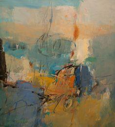 Spring Field III / acrylic / 46 x 42 in. / $4,600, Artist: Tony Saladino