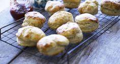YourHome - Recipes - Proper Cornish scones for the ideal cream tea No Bake Treats, Yummy Treats, Scones, Cornish Cream Tea, Sweet Recipes, Cake Recipes, Frangipane Recipes, French Tips, Essen