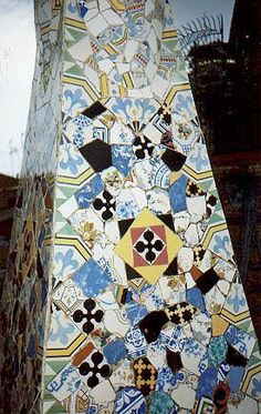 chimneys of the Palau Guell, Barcelona