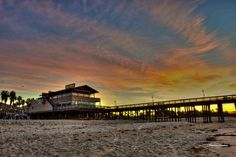 A different view of the Ventura Pier by Motionshooter