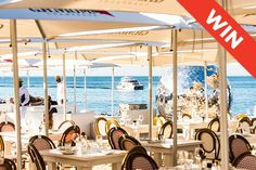 Enjoy a five-course seaside dinner, while watching the Grammy-award-winning Gipsy Kings at Grand Africa Café & Beach this December. Restaurants Outdoor Seating, Outdoor Restaurant, Outdoor Seating Areas, Win Tickets, Street House, Tap Room, Round House, Mountain View, Cape Town