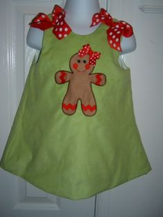 gingerbread dress.