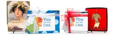 Wrapped gifts that can be included with a gift membership