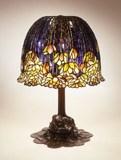 Louis Comfort Tiffany (1848-1933) was an American artist and designer who was inspired by the french art nouveau and is best known for his work in stained glass.