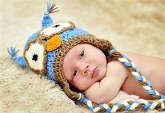Cute crochet hats.