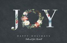 Holiday Floral Joy P