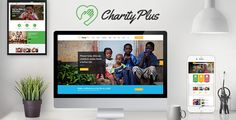 CharityPlus - Multipurpose Nonprofit Charity Organization PSD Template . CharityPlus has features such as High Resolution: No, Layered: Yes, Minimum Adobe CS Version: CS6, Pixel Dimensions: 1920x7070, Print Dimensions: 1920x7070
