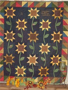 Product Image. Sunflower ohio block quilt Where wildflowers bloom, so does hope!!!