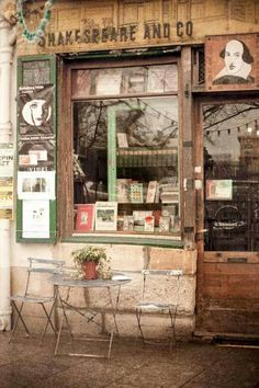 Shakespeare and Company, Bookstore, Paris, when I lived in Paris I shopped here nearly twice a week if not more.One of my fav places to stop by in France The Places Youll Go, Places To Go, Shakespeare And Company, William Shakespeare, Displays, I Love Paris, Shop Fronts, Shop Around, Paris Photos