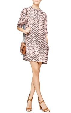Nate Printed Washed-Silk Dress by Joseph Now Available on Moda Operandi