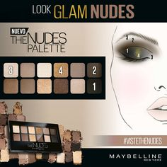 ¿Plan esta noche? Coge tu The Nudes Palette y sigue este paso a paso para un look de lo más glamouroso. #VisteTheNudes #soynudenoche
