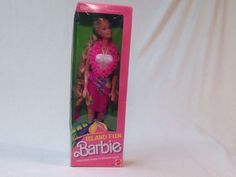 1987 Island Fun Barbie # 4061