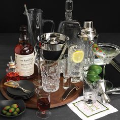 Registry ideas to stock the bar