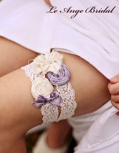 Garter set - one to fling and one to keep!