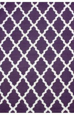 Rugs USA Homespun Moroccan Trellis Purple Rug, 75% off!
