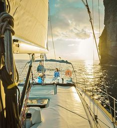 Explore Santorini caldera with our semi-private sunset sailing cruise. Make the Santorini sailing tour you always dreamt with Angel Sailing Santorini. Santorini Caldera, Santorini Sunset, 8 Passengers, Cruise Offers, Sailing Cruises, Sunset Sky, Boat Tours, Hot Springs, Snorkeling