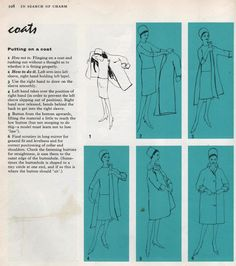 In The Heyday: This is the most elegant way to don a coat