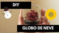 DIY(COMO FAZER) GLOBO DE NEVE| Hora da Amora