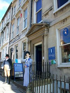 The Jane Austen Centre in Bath, England. (Source: http://www.flickr.com/photos/splendidem/4004302471/)