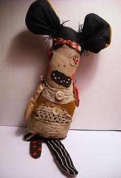 Lucy | Art Doll by Junker Jane