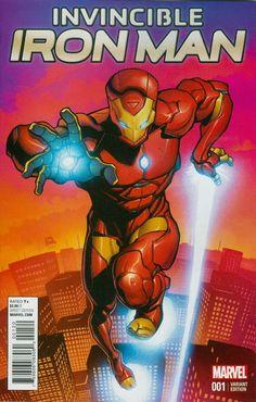Invincible Iron Man Vol 2 #1 Ryan Stegman Young Guns Variant Cover