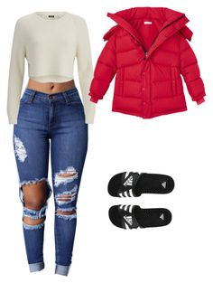 """Untitled #48"" by rxshida on Polyvore featuring adidas and 2NDDAY"