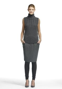 Look 12 Fall 2013 #fall #winter #fashion #design #style #cashmere