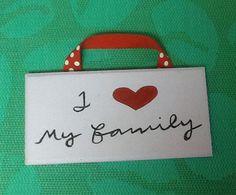 I love my family. Www.facebook.com/handpaintedbyp