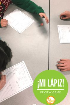 Looking for an engaging review activity, but don't want a lot of prep time? This game is perfect for any class, and any grade level! All you need is a pencil, some dice, and a worksheet or se…