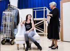 It Shoulda been you rehearsals