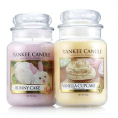 Easter Treats large jars from Yankee Candle