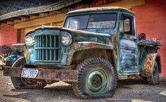 Barnyard Find: Jeep Willys Truck