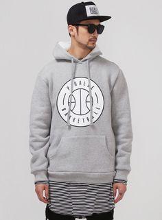 PGL. Basketball Napping Cotton Sweats Hoodie $51.00 #Fashion #Street #Style #Sweats #Winter