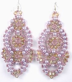 Flamenco Earrings Kit - Beads Gone Wild  - 4