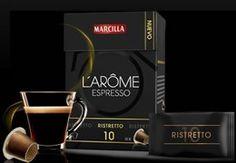 Prueba gratis café Marcilla L'arome Espresso Ristretto Otra más de estas promociones de probar gratis que nos gustan tanto, esta vez la promoción es para el nuevo café Marcilla L'arome Espresso Ristretto. http://www.sorteosyregalosgratis.com/prueba-gratis-cafe-marcilla-larome-espresso-ristretto