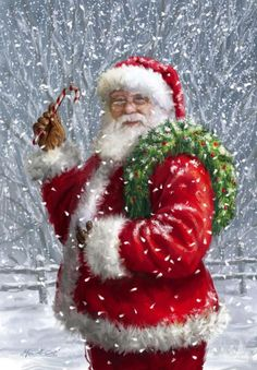 This must be the real Father Christmas . Christmas Scenes, Santa Christmas, Christmas Pictures, Winter Christmas, Christmas Crafts, Christmas Decorations, Father Christmas, Santa Pictures, Xmas