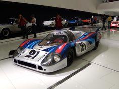Porsche Museum race cars