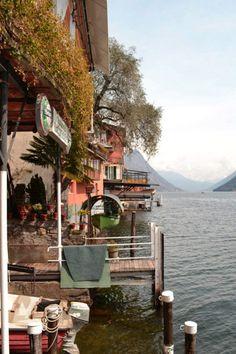 Sentiero dell'Olivo, Gandria Ticino Switzerland