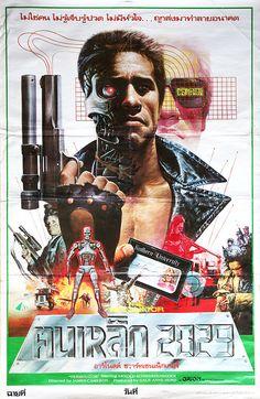 The Terminator, 1984 (Thai Film Poster)