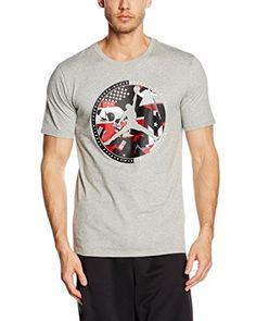 Nike T-Shirt Manica Corta Aj 9 Globe Tee  [Grigio Chiaro]