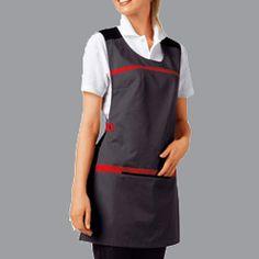 Salon Uniform, Spa Uniform, Chef Dress, Apron Dress, Beauty Uniforms, Work Aprons, Nurse Costume, Apron Designs, Maid Dress