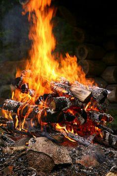 Autumn's bonfire
