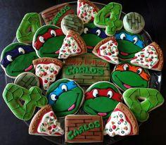 L0VE!<3Ninja turtles Cookies!!<3 I wanna make ninja turtle cookies && cupcakes with my boys <3